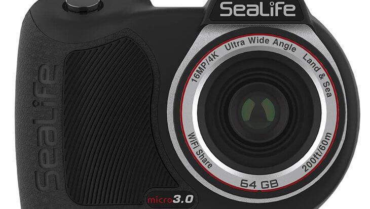 SeaLife Introduceert de Micro 3.0, de nieuwe permanent gesealde onderwatercamera