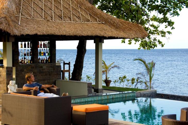 Tauch Terminal Resort, Tulamben, Bali, Indonesia