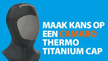 Win! Een Camaro Thermo Titanium cap!
