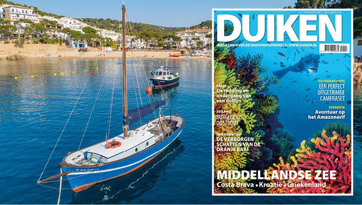 IN DE DUIKEN JULI UITGAVE: Middellandse Zee