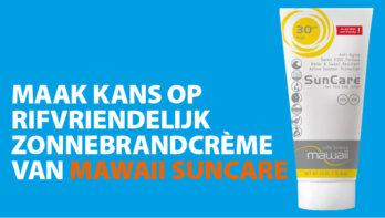 Win! Mawaii Suncare, rifvriendelijk zonnebrandcrème