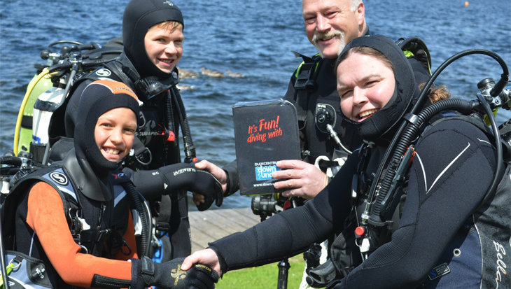 Duikcentrum Down Under: «Ik zie graag lachende duikers in de opleiding.»