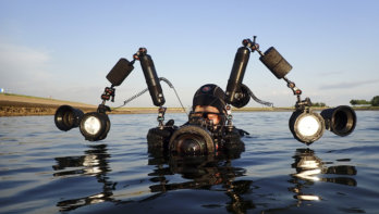 Perfecte armen voor je onderwaterhuis