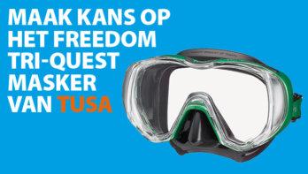 Win! Het Freedom Tri-Quest masker van Tusa