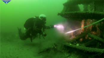 Schoonmaakactie Noordzee: Aan boord is alles anders