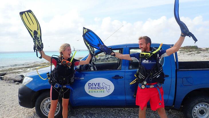 """Dive Friends Bonaire: """"We organiseren regelmatig een clean-up duik."""""""