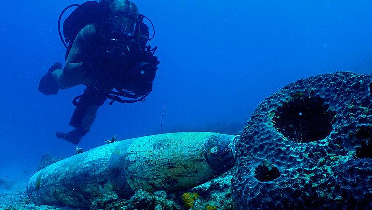 Op 80 meter diepte in de bubbel: diepduikoefening Deep Divex