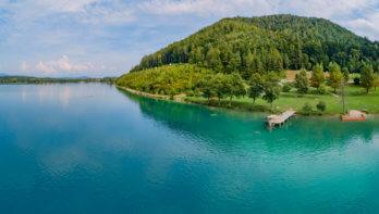 Klopeiner See, warmste meer van Europa?