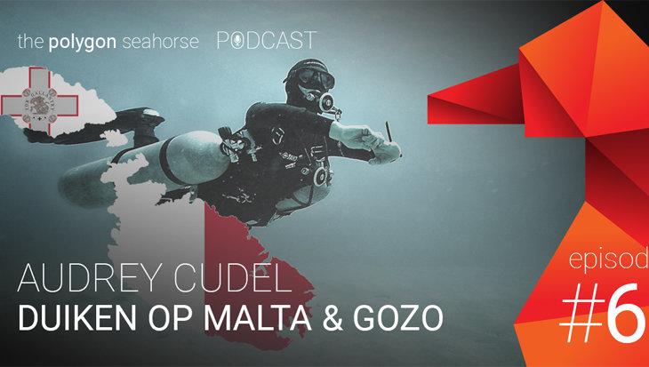 Podcast: duiken op Malta en Gozo met Audrey Cudel