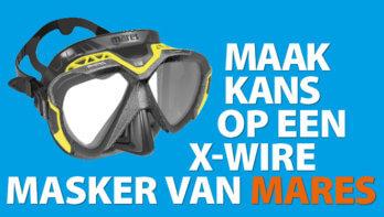Win! Een X-Wire masker van Mares