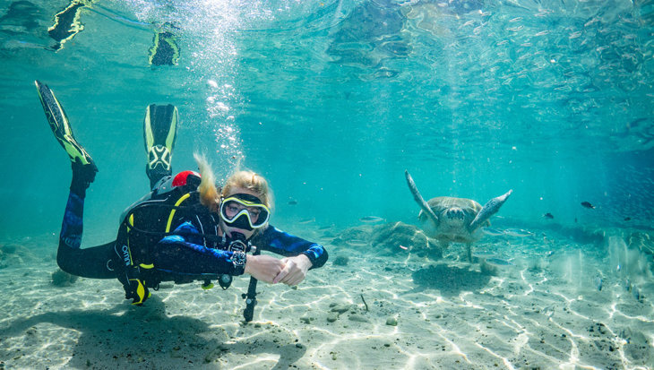 Certina DS Action Sea Turtle duikhorloge getest