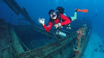 Ocean Encounters: «Alle duikstekken zijn 'one giant stride away!'