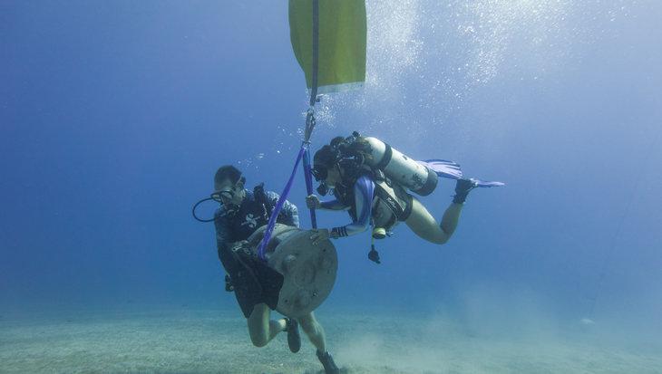 Kunstmatig rif Saba, restauratie van koraalriffen