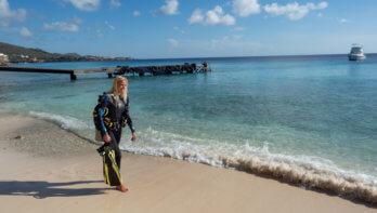 Kantduiken op DushiCuraçao #2