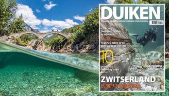 DUIKEN JANUARI UITGAVE: ZWITSERLAND, EUROPA'S DUIKGEHEIM