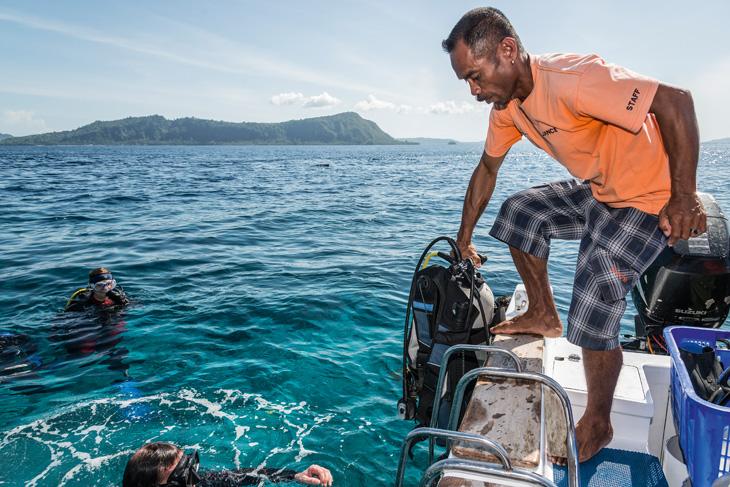 duiken en rugklachten