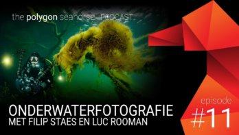 Podcast: Onderwaterfotografie met Filip Staes en Luc Rooman