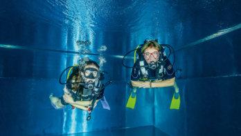 Drijfvermogen, uitloden voor duikers
