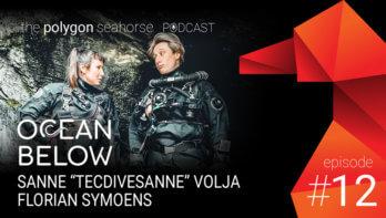 Podcast: Ocean Below met Sanne Volja en Florian Symoens