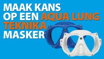 Win! Aqua Lung Teknika masker