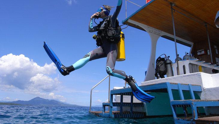 Lumbalumba Diving vecht zich door de coronacrisis