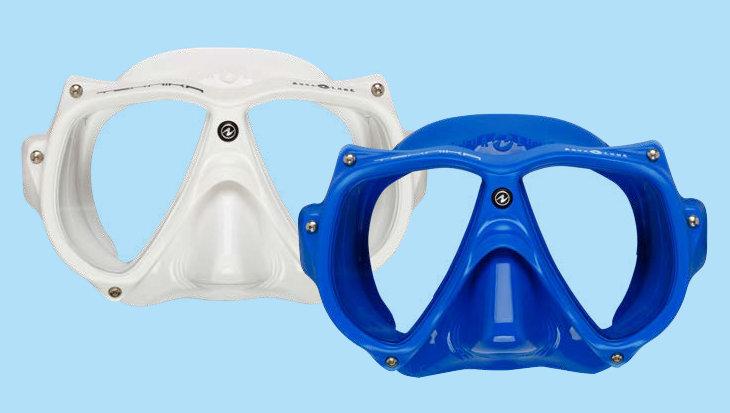 Aqua Lung Teknika masker, weg met storend zijlicht
