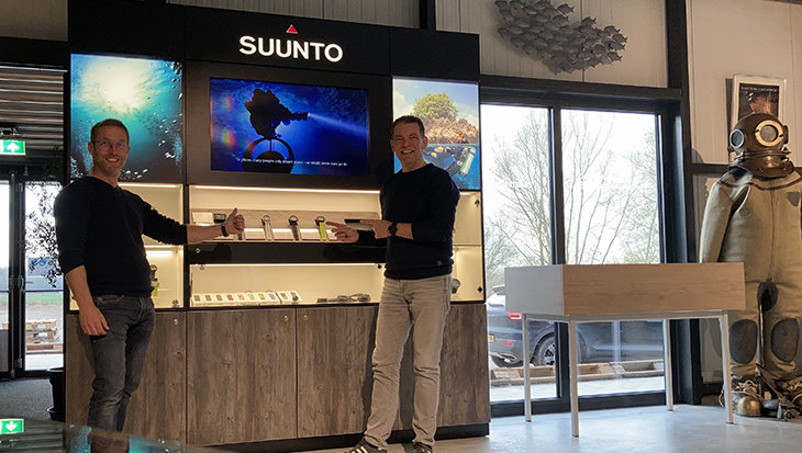 Scuba Adventures Europe is officieel Suunto Premium Partner
