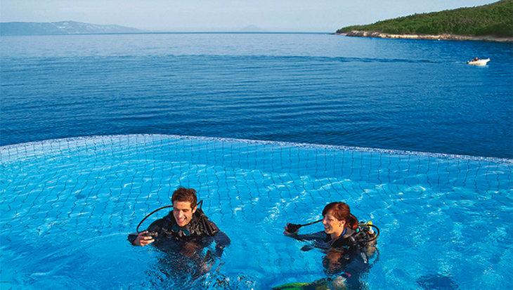 Labin in Kroatië: voor ontspannen duiken