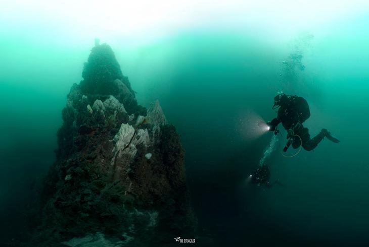 hydrothermische schoorsteen