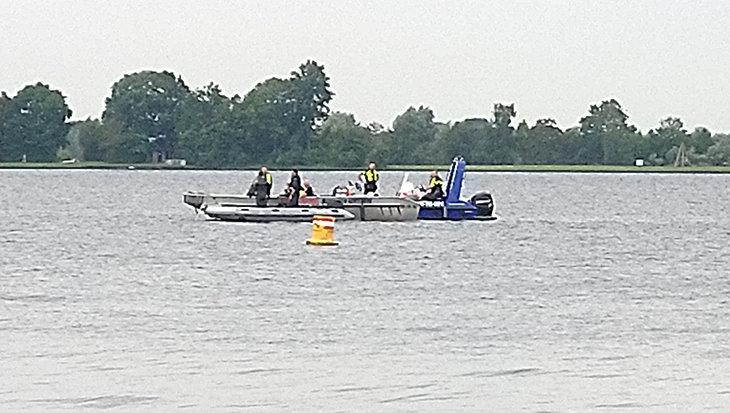 Vermiste duiker Vinkeveen gevonden en geborgen