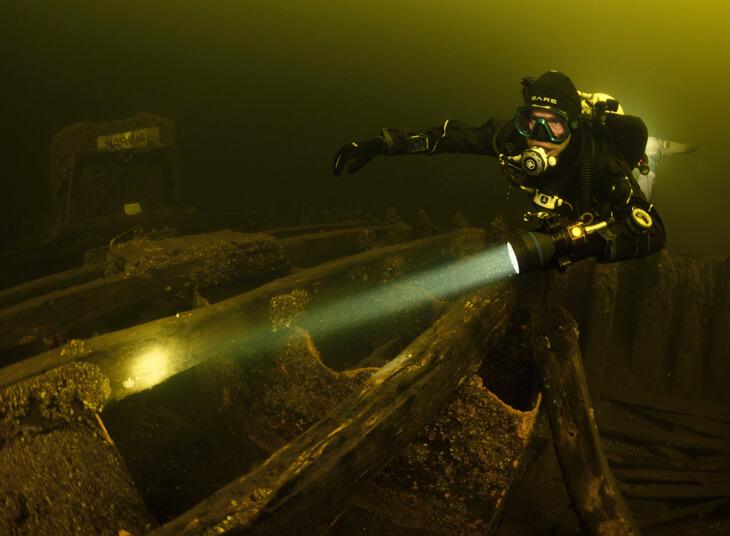 duikmasker beslaat