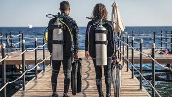 Desinfecteren van je duikuitrusting