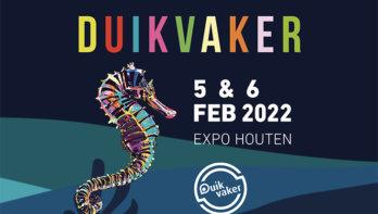 Duikvaker 5 en 6 februari 2022 in Expo Houten